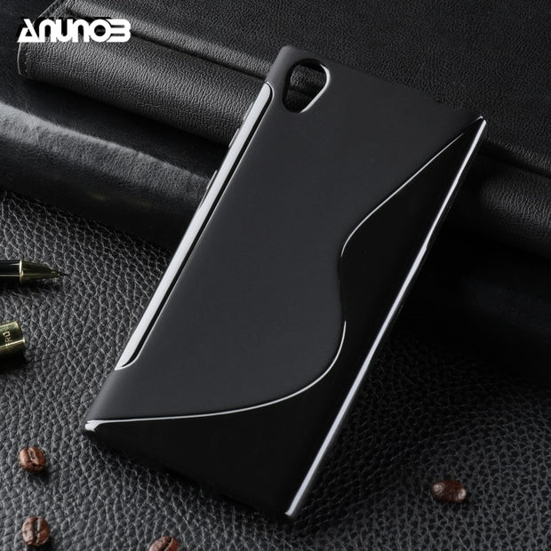 Anunob Phone Case For Sony Xperia E6 Cases Z L36H L1 G3311 G3312 G3313 C6602 C6603 L36i Cover Silicon Covers Shell Houisng