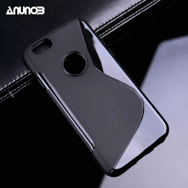 Anunob Phone Cover For Iphone 6 Covers Skin Shell Silicon Iphone 6 Iphone6s Iphone 6s 4.7inch Case Phone Anti-skid Cases