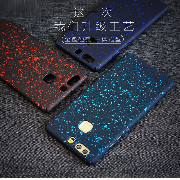 Art Starry Sky Ink Phone PC Cover Hard Case For OnePlus 5 5T For OnePlus 3 3T One Plus