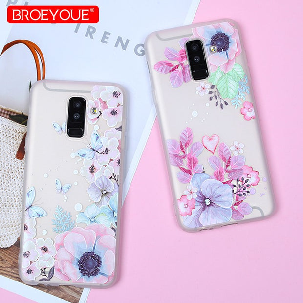 BROEYOUE TPU Case For Samsung Galaxy J5 2017 Silicone Phone Cover For Galaxy A3 A5 A7 A6 Plus J3 J4 J6 J7 J8 2017 2016 2018 Case