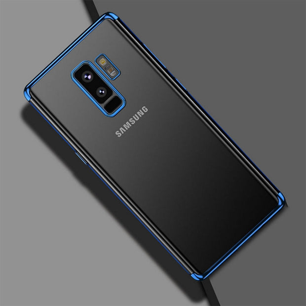 Back Cover For Samsung Galaxy J6 2018 Case Luxury Laser Plating Soft Clear Phone Cases For Samsung Galaxy J4 J8 2018 EU Version