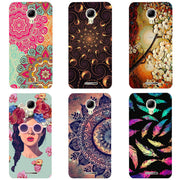 Cartoon Case For Alcatel One Touch Pixi 4,Mobile Phone Shell, TPU Painted Beautiful Cartoon Color Painting Case.9 Colors!