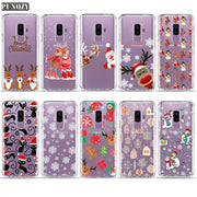 Case For SamSung J1 J1 2016 J5 J7 J7 2016 S3 Mini S3 S4 S5 S6 Edge S7 Edge Flower Merry Christmas Santa Claus Christmas Tree TPU