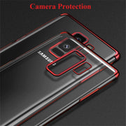 Case For Samsung Galaxy A6 2018 Case Luxury Laser Plating Soft Clear Phone Cases For Galaxy A6 Plus 2018 A8 Plus 2018 Back Cover
