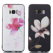 Case For Samsung Galaxy S8 S9 Plus J2 Pro J7 C8/C7 2017 Fish Girl Flower Painted Relief Soft TPU Silicon Cover Coque Fundas Capa