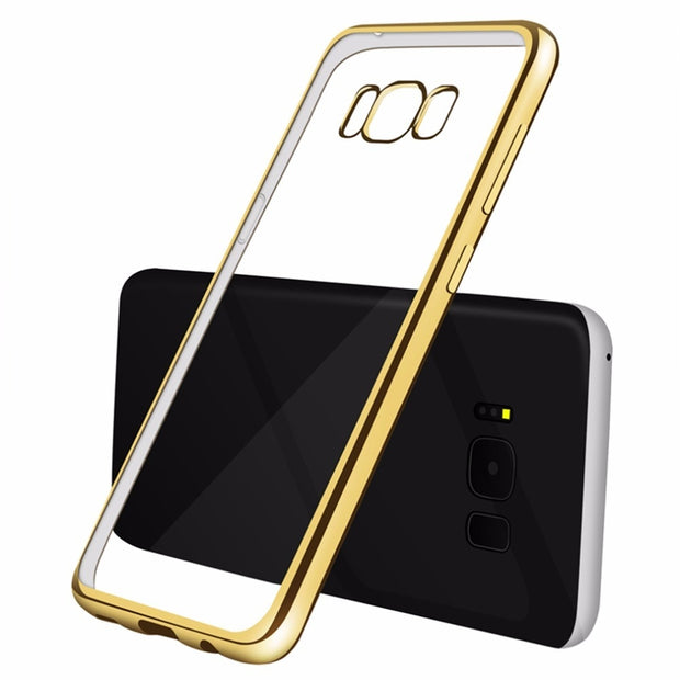 Case For Samsung S8 S7 Silicone Galaxy J1 2016 A3 A5 A7 J3 J5 Prime S9 Plus S7 S6edge Note 8 Clear Back Cover TPU Phone Bag Case