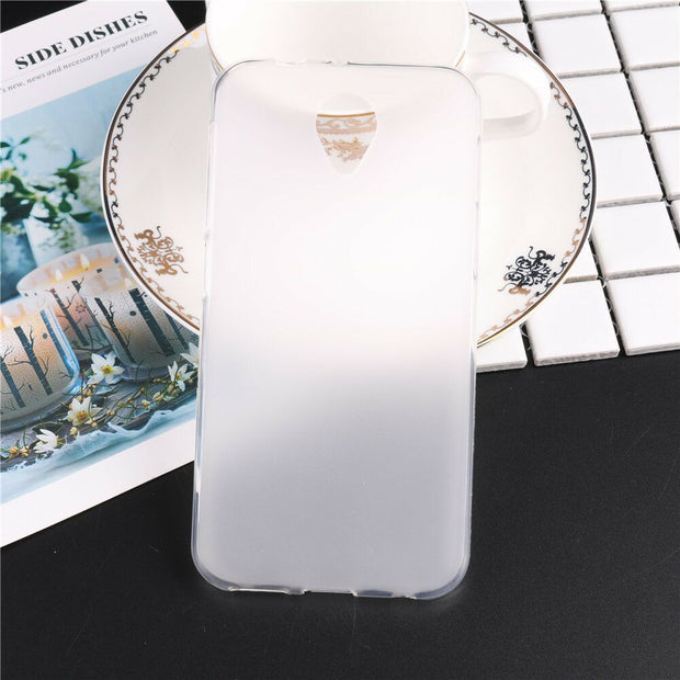 Case For Vodafone Smart Prime 7 Soft TPU Crystal Clear Ultra Thin Translucent Protective Pudding Case Cover