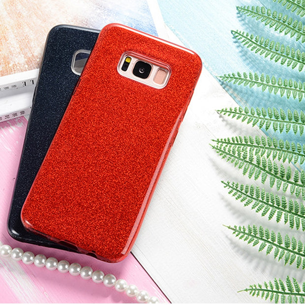 Cell Phone Case For Samsung Galaxy S9 S8 Plus S7 S6 Edge S5 Neo Note 8 S8Plus S9Plus Luxury Silicone 360 Soft Cover