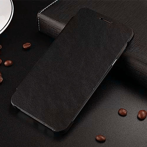Classic PU Leather Flip Case For Samsung Galaxy J1 J5 J500 J7 J700 2015 Luxury Mobile Phone Cases Accessories