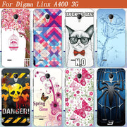 Cool Fashion TPU Cover Case For Digma Linx A400 3g Soft Silicone Phone Case For Digma Linx A400 4.0 Inch Back Cover
