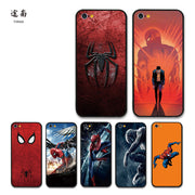 Cool Marvel Hero Spiderman Case Funda For Iphone 6 7 8 Plus Luxury Movie Cover Case For Iphone X Phone Fashion Bumper Cases