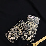 Cool Totem Lion Soft TPU Slim Phone Fundas Case For Apple IPhone X Tiger Coque Back Cover For IPhone 6 6S 7 8 Plus Man Gift