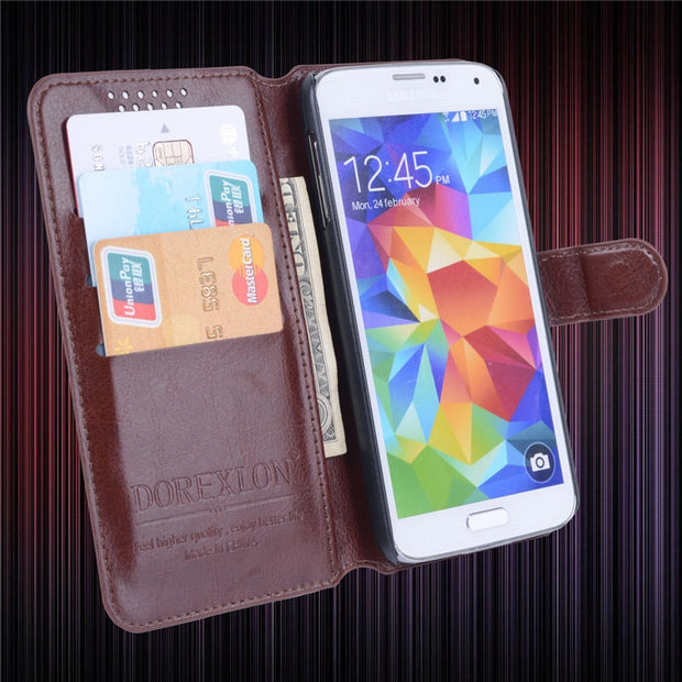 "Coque Luxury Retro Flip Case For Letv X800 5.5"" Card Holder Cover Case For Letv 1 Pro X800 Leather Phone Case Letv One Pro 1Pro"