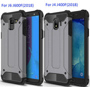 Defender Drop Resistance Anti Hit Case For Samsung Galaxy J4 J6 Plus J600F J400F Rugged Hybrid Armor Shield Cover