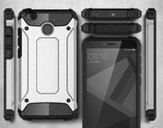 "Defender Drop Resistance Anti Hit Cover Case For Xiaomi Redmi 4X 5.0"" Rugged Hybrid Armor Double Layer PC+TPU Protector"
