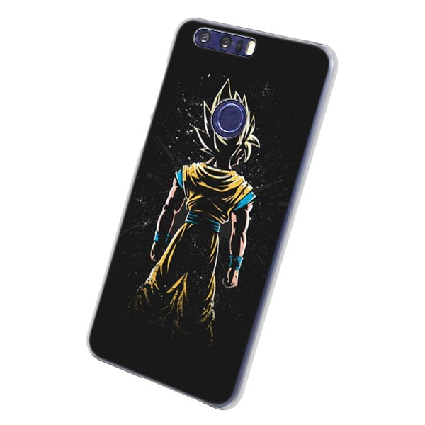Dragon Ball Super Goku Phone Cases For Huawei Honor 8 9 10 Lite Hard