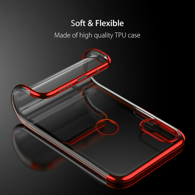 Electroplate TPU Case For Xiaomi 8 Soft Flexible TPU Case Cover For Xiaomi Mi 8 Electroplate Color Case For Xiaomi 8 Back Cover