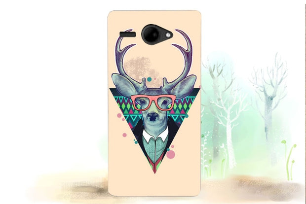 FS506 Cirrus 3 Case Cover New Fashion Painted Colored Case For Fly FS506 Cirrus 3 Silicone Phone Bags For Fly Cirrus 3 FS506
