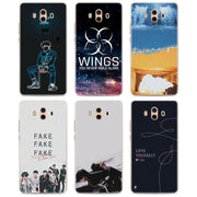 Fake Love BTS Bangtan Boys Phone Case For Huawei Mate 20 Pro 20 Lite 10 Pro Hard PC Case For Huawei Mate 10 Lite Case Cover