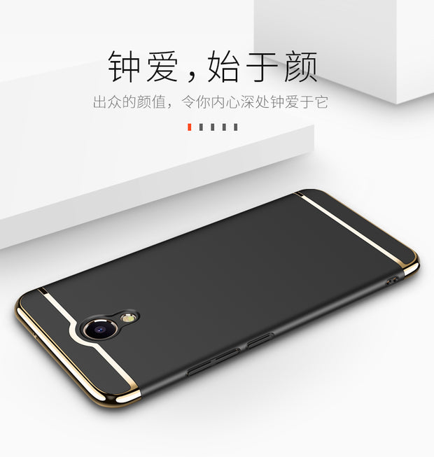 Fashion Ultra Thin Metal Plating Frame Hard Protective Cover For Meizu M5 Note M5 Note Meilan Note 5 Phone Case Capa Para Coque