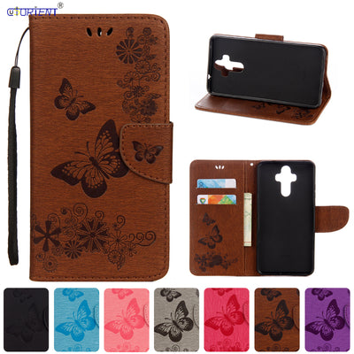 Fitted Cases For Huawei Mate 9 MHA-L09 MHA-L29 Mobile Phone Cover For Funda Huawei Mate 9 MHA L09 L29 Flip Leather Wallet Cover