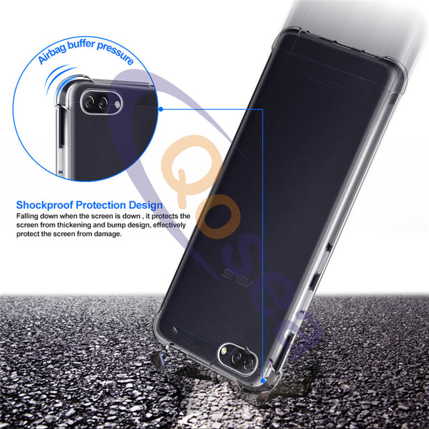 For ASUS Zenfone 4 Pro ZS551KL Case Ultra Clear Silicone Soft Transparent TPU Zenfone 4 Pro ZS551KL Anti-knock Protective Cover