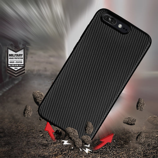 For Asus Zenfone 4 Pro MAX 4R V520kl Zs551 Case Luxury Shockproof Carbon Fiber Ultra Thin Soft TPU Phone Case Slicone Back Cover