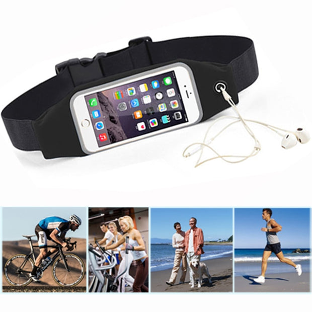 For Asus Zenfone 2 Laser Ze500kl Sport Belt Running Bag Waist Pocket Case Cover Gym Jog Waterproof Workout Case 2 Laser Ze500kl