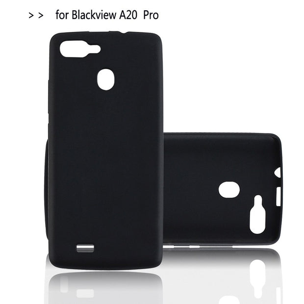 "For Blackview A20 Pro Silicon Case 5.5"" Ultra Thin Soft TPU Mobile Phone Back Case Cover For Blackview A20 Pro Smartphone"