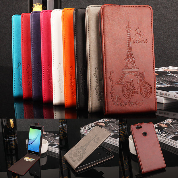 For Elephone S7 Phone Case [Up-down Open] Vertical Flip Premium Pattern PU Leather Wallet Case Factory Price Tieta
