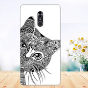 For Fly Cirrus 13 FS518 Case Cover Pattern Painted Colored Tiger Owl Soft Tpu Case For Fly Fs518 Cirrus 1 Fundas Phone Sheer