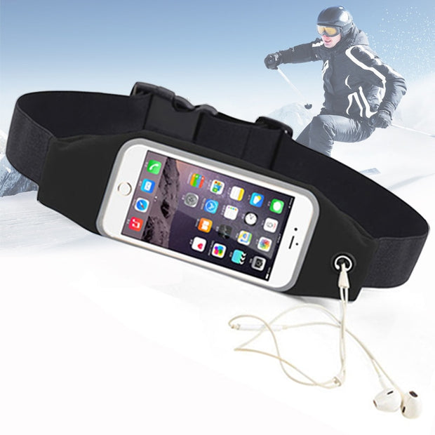 "For Fly Fs504 5s Waterproof Phone Case Sport Belt Running Cover 4.7"" 5.5 Inch Universal Bag For Capinha 5s Outdoor Smart Case 5"""