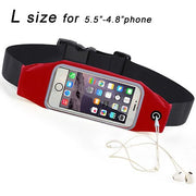 Running belt red l