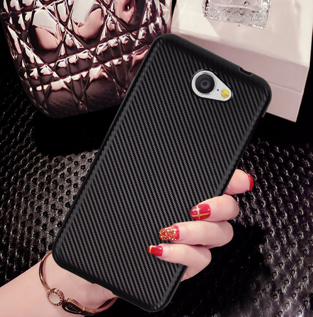 For Google GM5 PLUS One 4G Case Luxury Carbon Fiber Anti-drop TPU Soft Silcone Cover Case For Google GM6 GM8 Protective Case