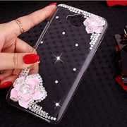 "For Huawei Honor 4C Pro Case 3D Luxury Bling Crystal DIY Diamond Case Cover For Huawei ( Honor Y6 Pro)5.0"" ( Not Honor 4C)"