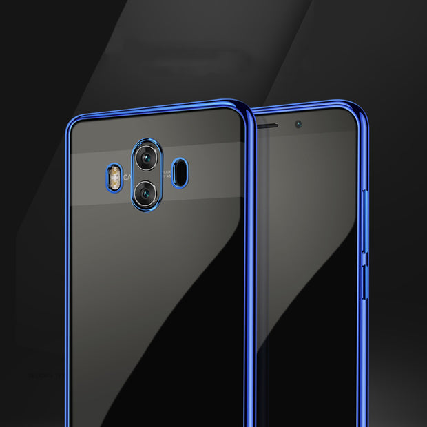 For Huawei Mate 10/10 Pro Case Luxury Plating TPU Silicone Soft Cover Coque Fundas For Mate10/Mate10 Pro Back Cover Bags