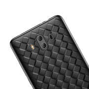 For Huawei Mate 10 Case Creative Grid Weaving Soft Silicone Case For Huawei Mate 10 Pro Thin Smooth Back Phone Cover Bags