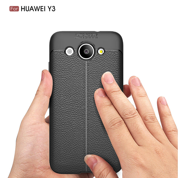 For Huawei Y3 2017 Case Full Protective Slim TPU Case For Huawei Y3 2017 5.0 Inch Soft Silicone Protective Back Cover