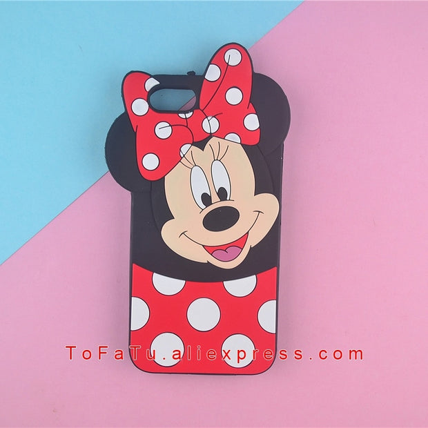 For Huawei Y5 2018 Y5 Prime 2018 Case Silicone Cartoon Minnie Cat Phone Cover Cases