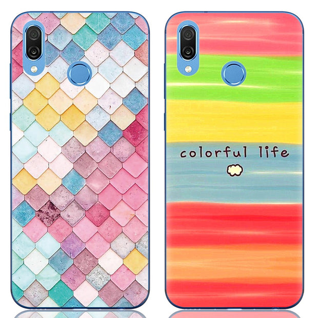 For Huawei Honor Play TPU Ultra Thin Phone Case Silicone Cover Crystal Clear Case Huawei Honor Play Phone Back Cover