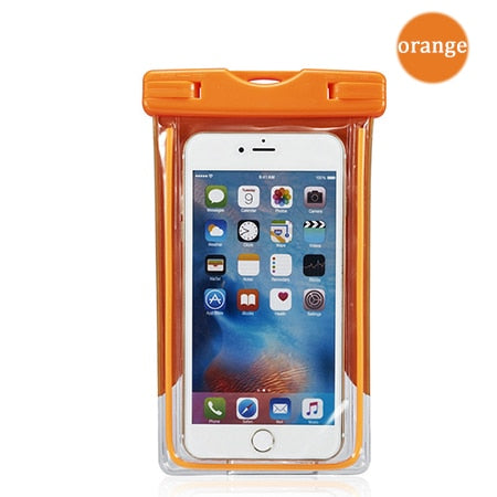 Case pouch orange