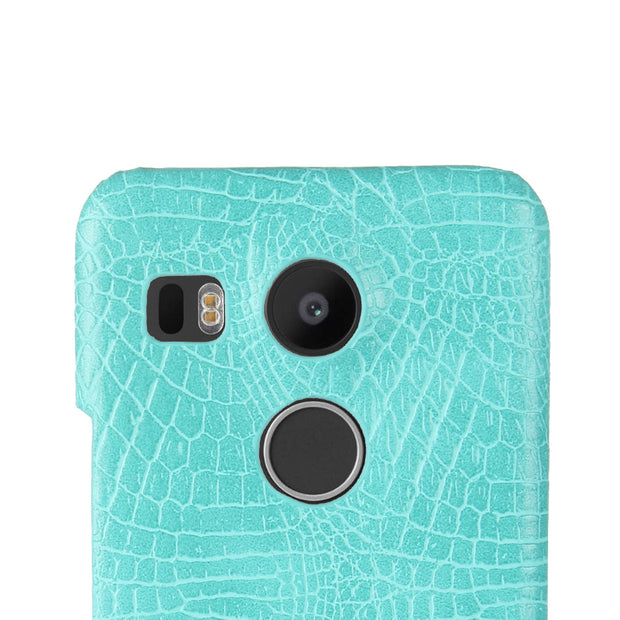 For LG Nexus 5X Case 5.2inch Retro Luxury Crocodile Skin Book Cover For LG Nexus 5X H791 H790 Phone Bag Case