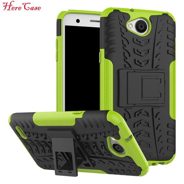 For LG X Power 2 Case 5.5'' For LG X Power2 Cover Rugged Armor Mobile Phone Cases Hard PC & TPU Hybrid Kickstand Back Cover