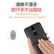 For LG X230 Case Luxury Shockproof Carbon Fiber Ultra Thin Soft TPU Phone Case For LG K7i Phone Case Slicone Back Cover