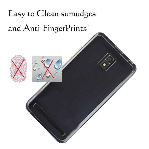 super popular 8d68e 87b7f For Lenovo A6600 / A660 Plus Crystal Case Cover Made Of TPU Silicone  Transparent Clear Protection Back Cover Case