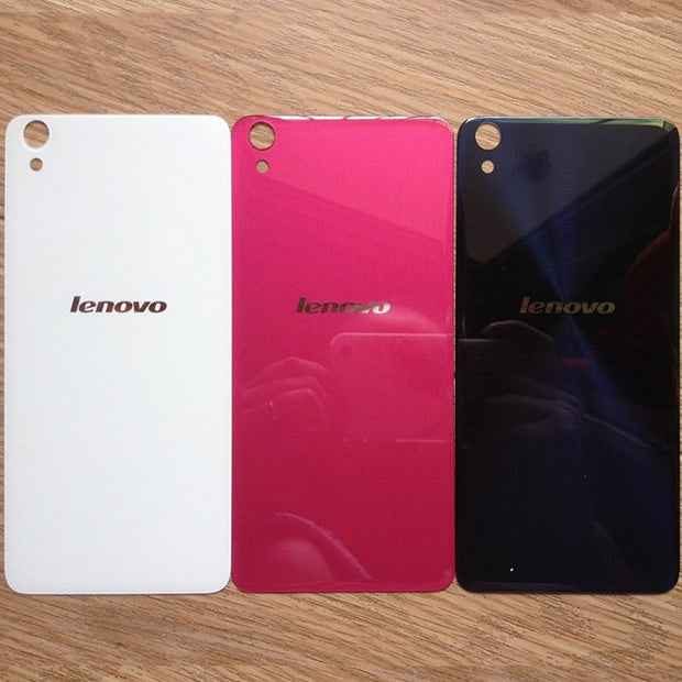 buy popular 64832 ad02a For Lenovo S850 Case Back Cover Glass Rear Door Housing Replacement ...