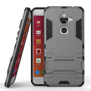 For Letv 2 LeEco Le2 X520 X527 Cover 5.5'' Le 2 PRO X620 Case Quality Hard PC & TPU Hybrid Armor Back Cover Kickstand Phone Case