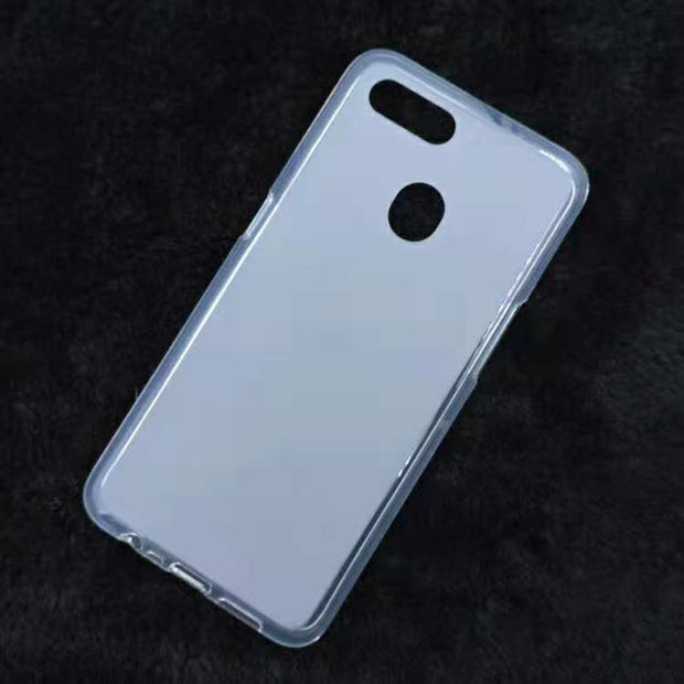 For OPPO AX7 Phone Case Soft TPU Pudding Cases Silicone Cover For OPPO A7 2018 Case Matte Bumper
