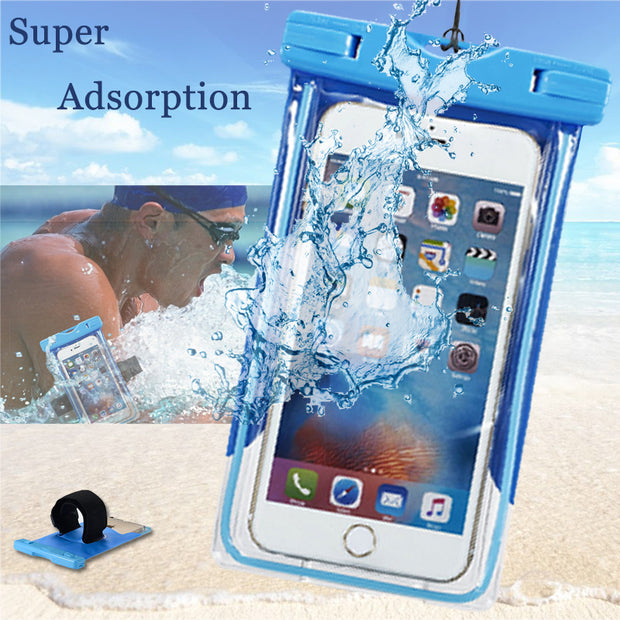 new product fb18c 006a6 For OnePlus 1 2 3 Waterproof Case Phone Pouch Underwater Mobile Dry Bag  Swim Diving Capa Funda Cover One Plus 1 2 3 High Quality
