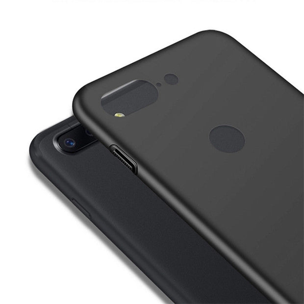 For OnePlus 5T Full Protective 1+5T Shell Capa Luxury Simple Style Matte Phone Case For OnePlus 5 5T Hard PC Plastic Back Cover